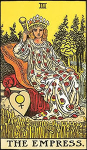 empress tarot card the empress woman karina duque