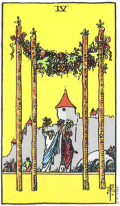Tarot & Travel: Toledo, Spain 4 of Wands