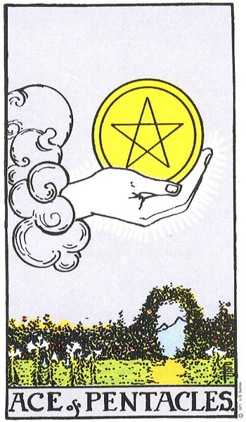 Tarot & Travel: Toledo, Spain, Ace of Pentacles