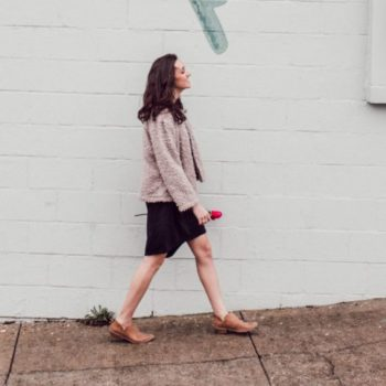 relocating advice tips for starting over girl walking in the street